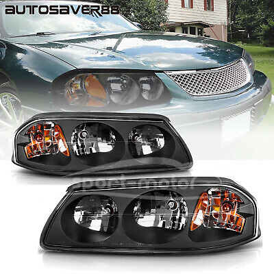For 2000 2005 Chevy Impala Headlights Replacement 00 05 Headlamp Kit Left Right