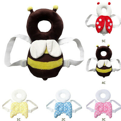 Toddler Infant Baby Head Back Neck Protection Pillow Walk Pad Headrest Cushion