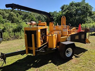 Brush Bandit 250 Xp  Brush Chipper Self Feeder