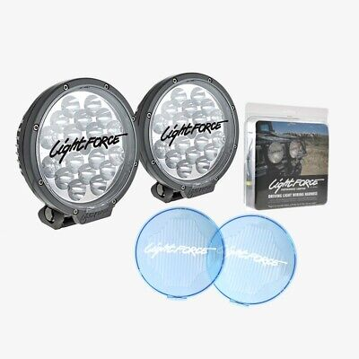 Lightforce Led180Sd Led Driving Lights Pair + Wiring Harness - Final Clearance