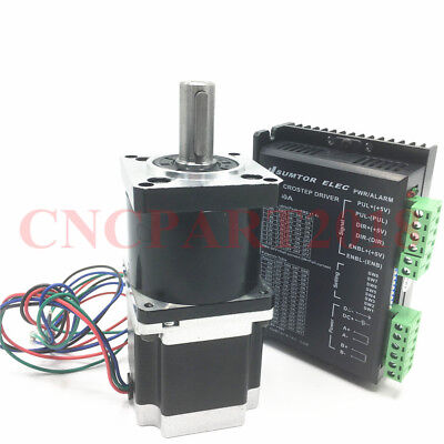 Nema23 22NM Planetary Gearbox 20:1 Stepper Motor Drive Kit 3A L56mm 4-Wire Kit