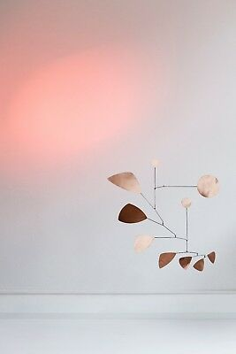 Mobilee  Mobile Kupfer Copper  Lappalainen Hanging sculpture Hangingmobile
