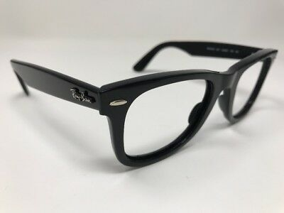 3f284b86bd1 Ray-Ban Wayfarer Ease Sunglasses Rb4340 601 Black Classic 50-22-150 X276