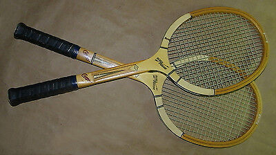 Cragin Vintage Tennis Racquets   Lot Of Two
