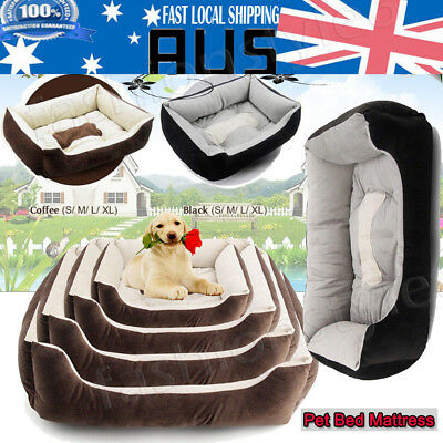 Heavy Duty Pet Bed Mattress Dog Cat Pad Mat Cushion Extra Large Medium Small AU