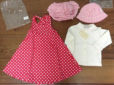 Small Bundle 12/18 Month - Sundress/ L. Sleeve Blouse/sun hat & Pants BUY IT NOW