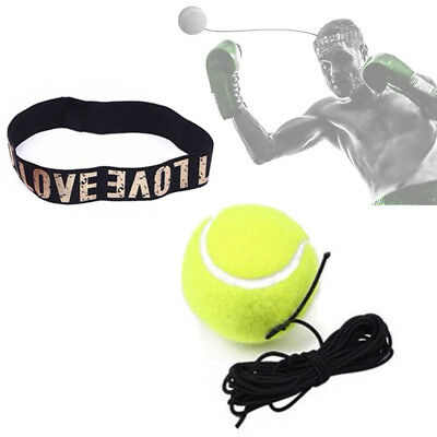 Boxing Fight Ball with Elastic Rubber Headband For Reflex Speed Training Boxing