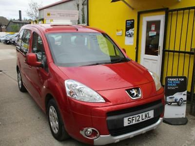 2012 Peugeot Partner Tepee 1.6 HDi 92 S 5dr A c WHEELCHAIR ADAPTED ACCESS Low...