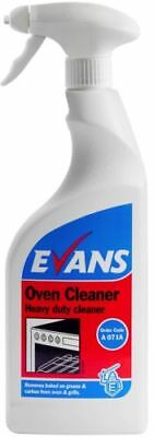 Evans Vanodine Oven Cleaner 750ml Spray