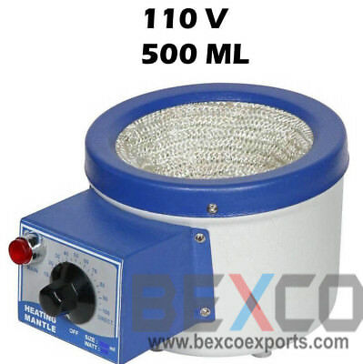 Top Quality Brand BEXCO Heating Mantle For Flask 110V 500ml DHL