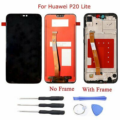 LCD Display +Touch Screen Digitizer Assembly for Huawei P20 Lite with Tools