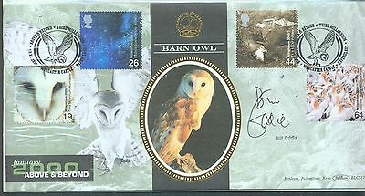 Great Britain 2000 Above and Beyond FDC signed by Bill Oddie