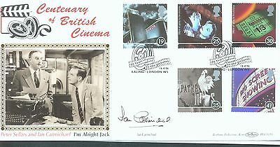 Great Britain 1996 Cinema FDC signed by Ian Carmichael