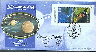 Great Britain 2000 Above and Beyond FDC signed by Prof. Heinz Wolff