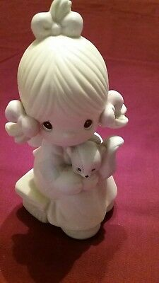 Precious Moments Figurine Scent From Above 1986 Signed Samuel J. Butcher