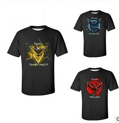 Pokemon Go Valor, Mystic and Instinct Team T-shirt (Adults & Youth)