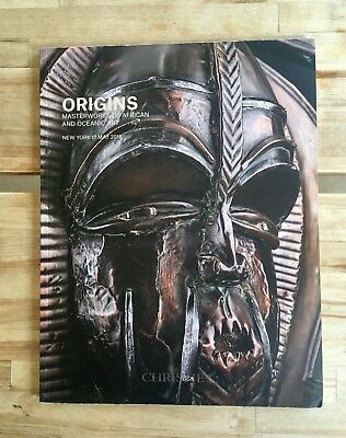 Christie's catalog ORIGINS Masterworks of African and Oceanic Art Ma7 2018 NY