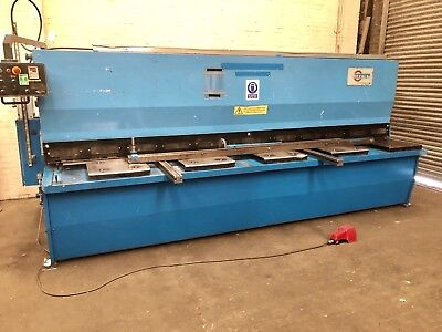 RICO (Portugal) 4m Hydraulic Sheet Metal Guillotine