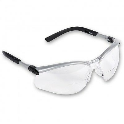 3M BX Reader Bi-Focal Safety Glasses Spectacles 2.00 Dioptre Clear 11375-00000M