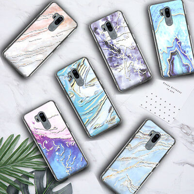 For LG G7 ThinQ Phone Case Shockproof Hard TPU Hybrid Rugged Clear Bumper Cover