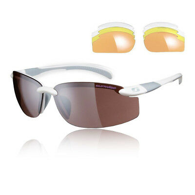 Sunwise Unisex Pacific Interchangeable Sunglasses - White Sports Running Water