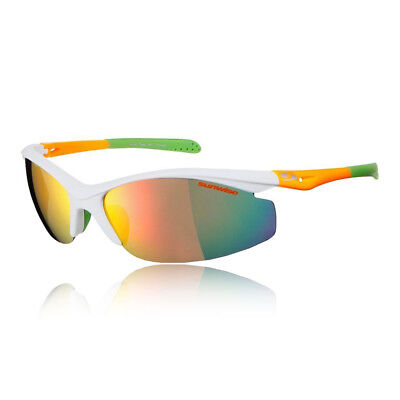Sunwise Unisex Peak MK1 Sunglasses - White Sports Running Water Resistant