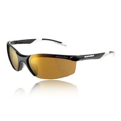 Sunwise Unisex Breakout Sunglasses - Black Sports Running Water Resistant