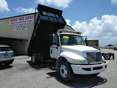 2012 International 4300-NEW 16' Contractor Dump Body and Hoist!