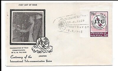 Nepal 1965 Fdc The King