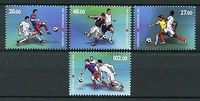 Kyrgyzstan 2018 MNH World Cup Football Russia 2018 4v Set Soccer Sports Stamps
