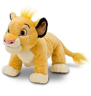 """Official Disney Store The Lion King Simba Soft Plush Cuddly Toy 11"""""""