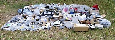 Huge Car Spare Parts Lot Lights Decals Mirrors Badges Trim Toyota Alfa Volvo