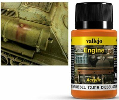 VALLEJO WEATHERING  Effects Engine Effect Diesel Stains 40 ml 11,25 PER 100 ML