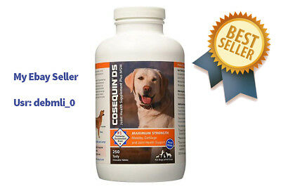 Nutramax-Cosequin DS 250ct Joint health for Dogs Plus MSM NEW / FREE SHIP NOW