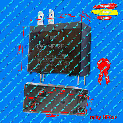 Miniature High Power Relay 12VDC HF62F or JQX-62F 012-1H or OMIF-S-112LM