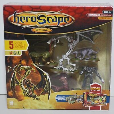 Heroscape Expansion Set Orm's Return Heroes of Laur (Sealed)