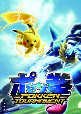 155132 Pokken Tournament High Quality Wall Print Poster CA