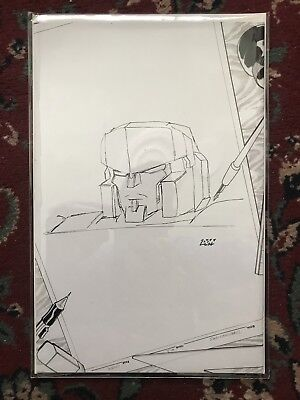 Transformers IDW Infiltration #1 New Dimension Sketch Cover #89 Of 100