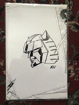 Transformers IDW Infiltration #1 New Dimension Sketch  Cover #32 Of 100