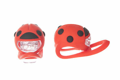 Buggi Lights - Pram/Pushchair Lights - Safety Accessory - Ladybug Shape - 2 Pack