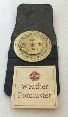 brass weather forecaster made for Past times