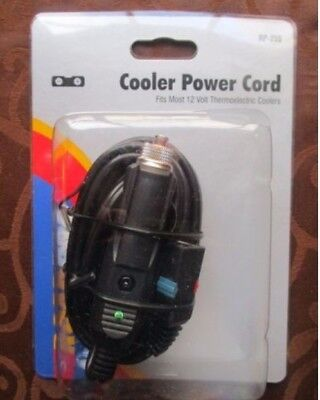 RoadPro Cooler Power Cord RP-255 12 Volt Thermoelectric NEW