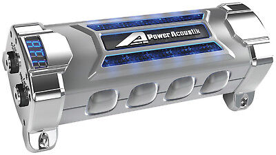 Power Acoustik Pcx-5F Capacitor 5 Farad Digital Disp