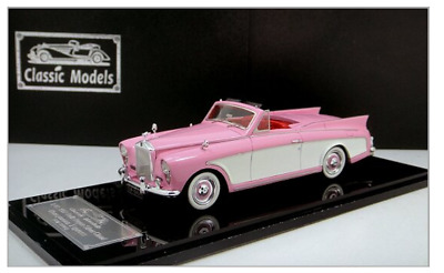 1/43 Rolls-Royce Silver Cloud Honeymoon Express 1957 Cabriolet (Lavender/White)
