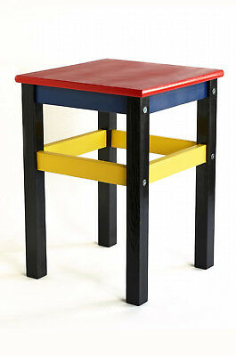 IKEA Red And Blue Stool - New