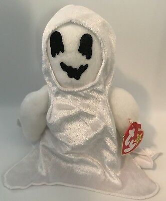 TY Beanie Babies Sheets the Ghost Halloween Plush with Tag