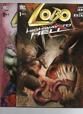 DC Lobo Highway To Hell Book 1 and 2 (2010) High Grade