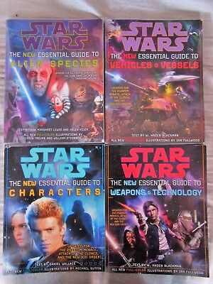 Lot Star Wars The new essential Guide Alien Species Characters Vehicles weapons