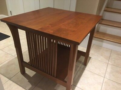 Stickley Lamp Table Mission Style Cherry