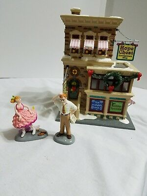 DEPT 56-Original Snow Village - Hope Chest Consignment Shop & What A Great Find